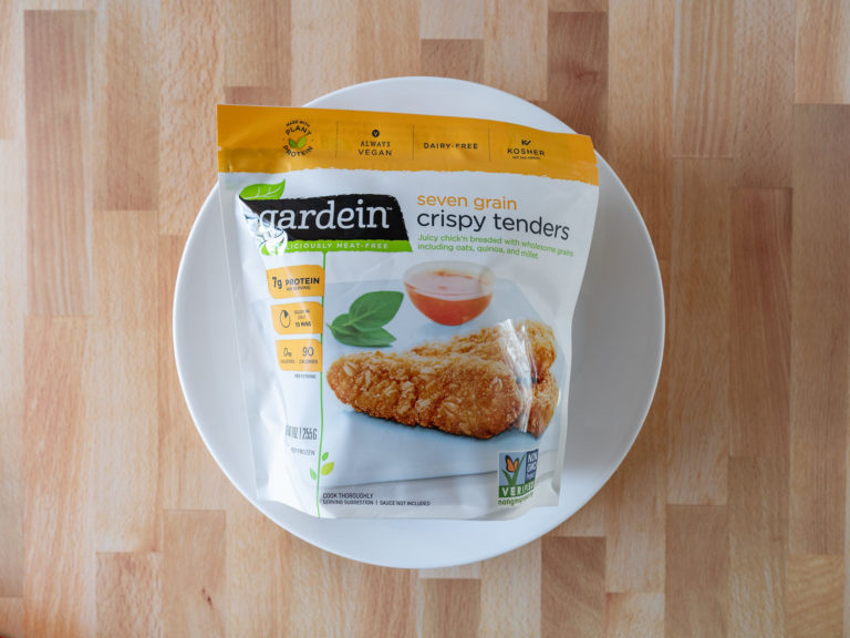 How to air fry Gardein Seven Grain Crispy Tenders