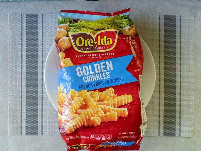 How to make Ore-Ida crinkle cut fries in the air fryer
