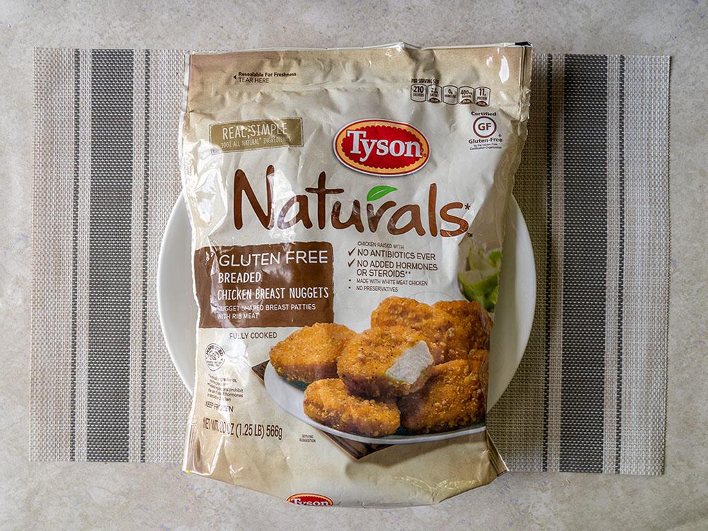 Tyson Naturals Breaded Chicken Breast Nuggets
