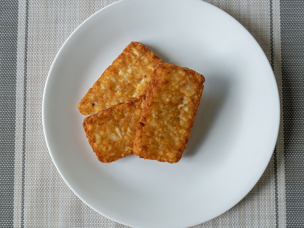 Air fried Walmart hash browns