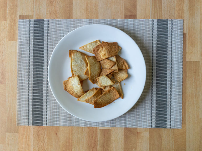 How to make fresh tortilla chips in the air fryer