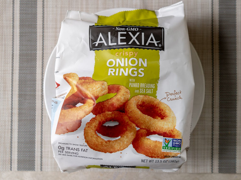How to make Alexia Crispy Onion Rings in the air fryer
