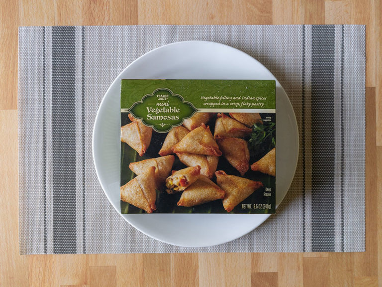 How to air fry Trader Joe's Mini Vegetable Samosa