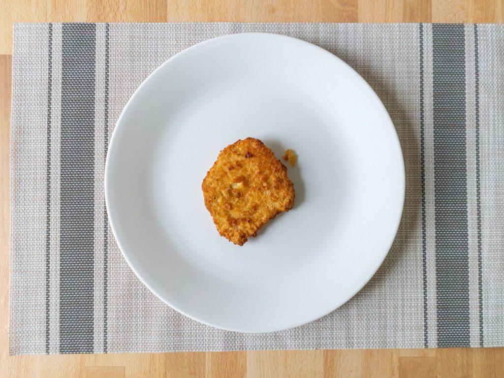 Air fried Gardein Turky Cutlet