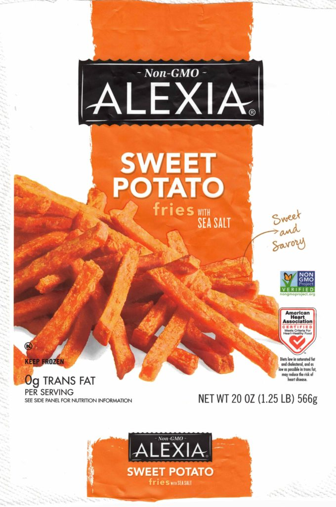Alexia Sweet Potato Fries package front