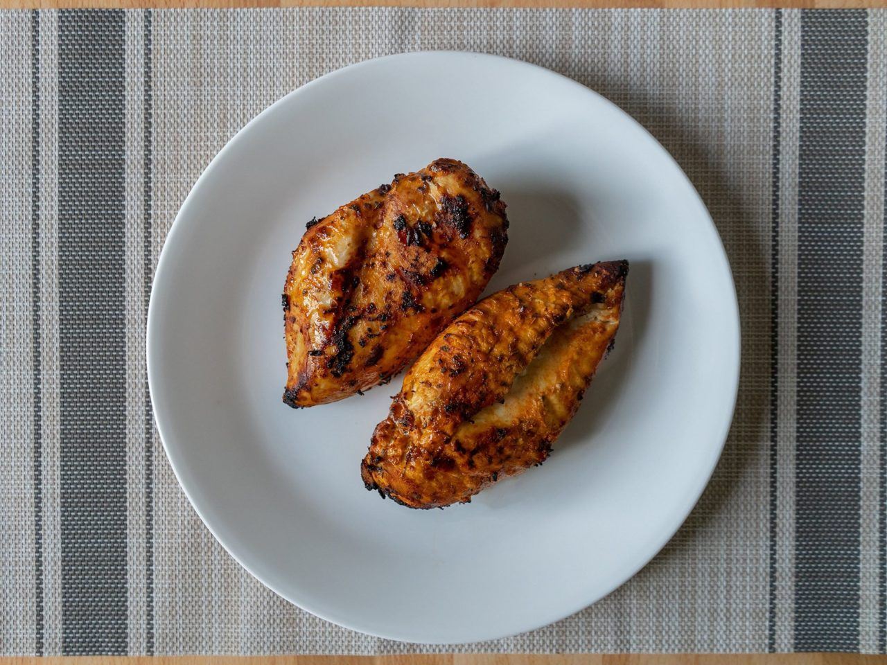 Mexian style grilled chicken out of the air fryer