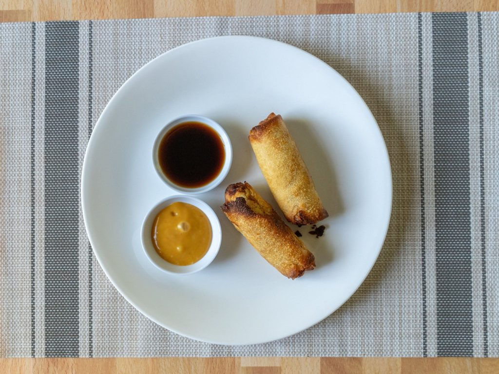 Tai Pei Chicken Egg Rolls air fried