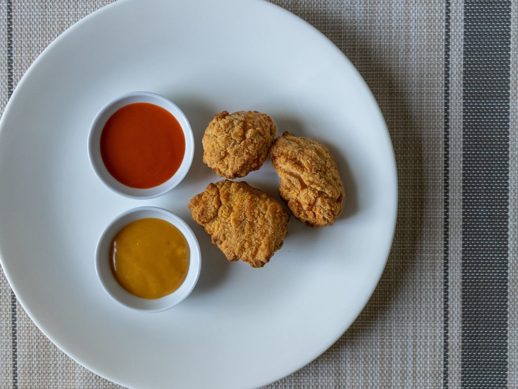 Tyson Anytizers Popcorn Chicken - cooked in airfryer