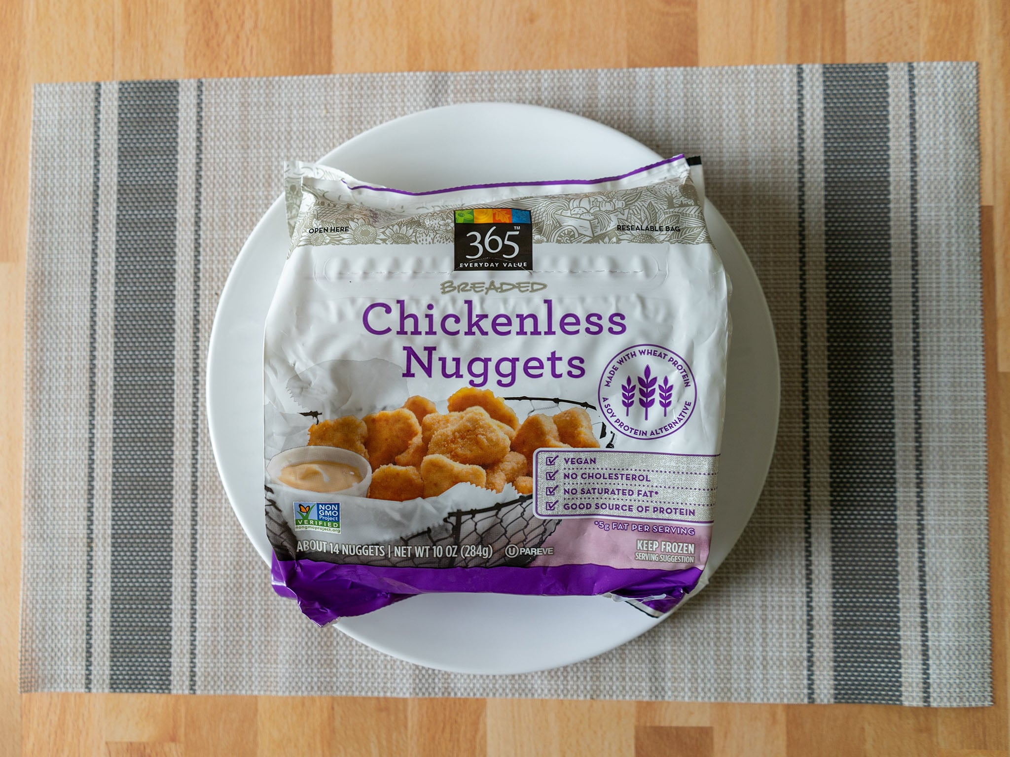 365 Breaded Chickenless Nuggets