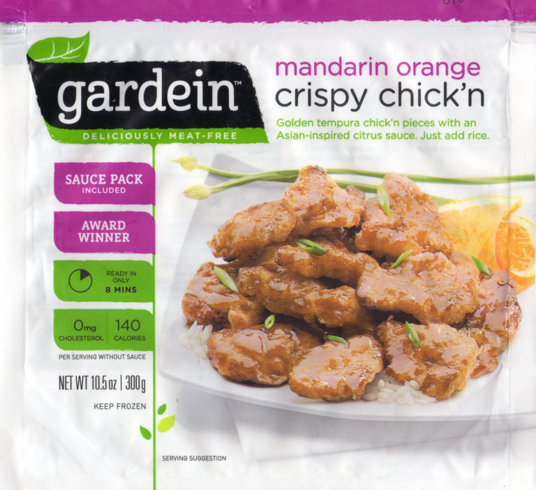 How to cook Gardein Mandarin Orange Crispy Chick'n in an air fryer