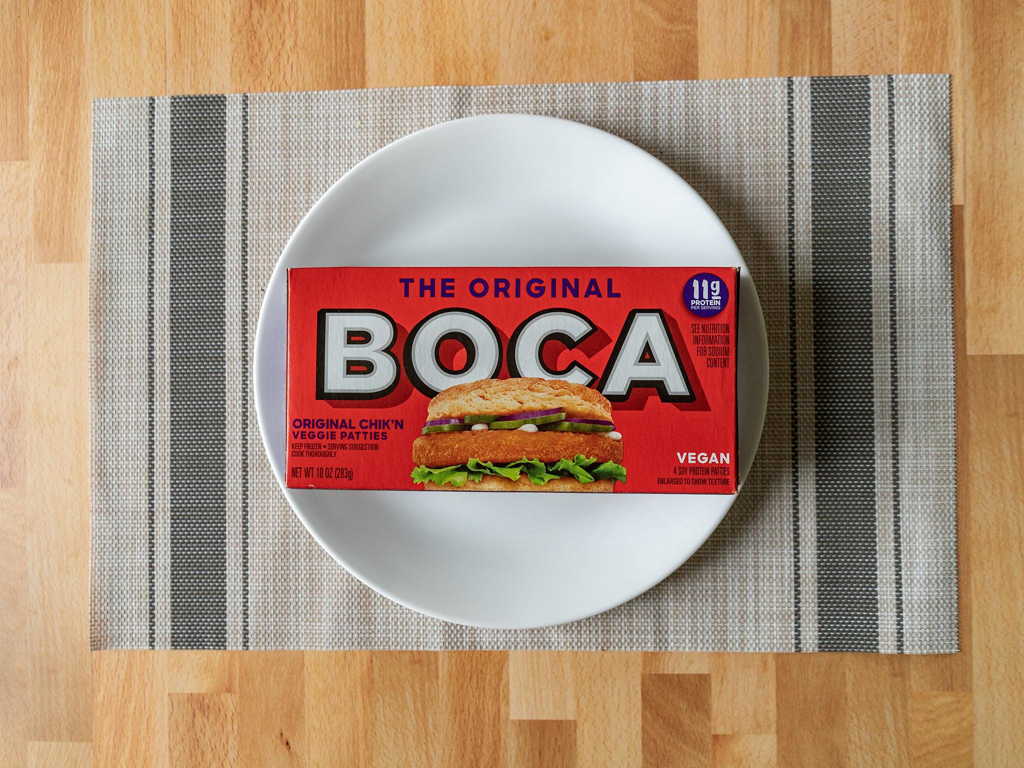 The Original Boca Chik'N Veggie Patties