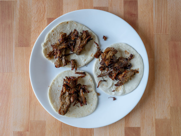How to reheat carnitas in an air fryer