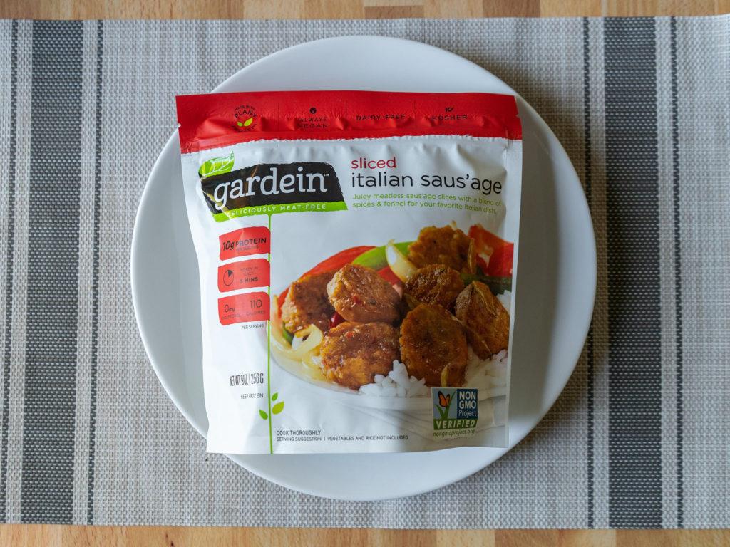 Gardein Sliced Italian Saus'age