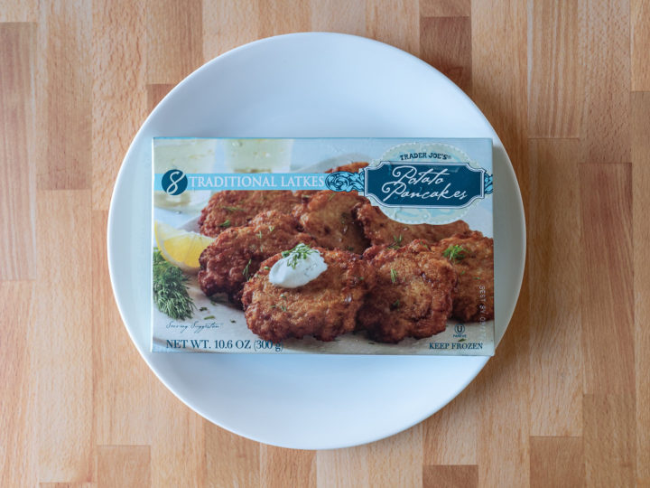 Trader Joe's Latke Potato Pancakes