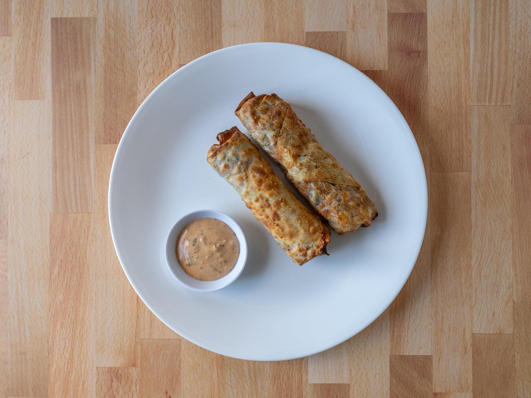 Air fried Southwestern egg rolls
