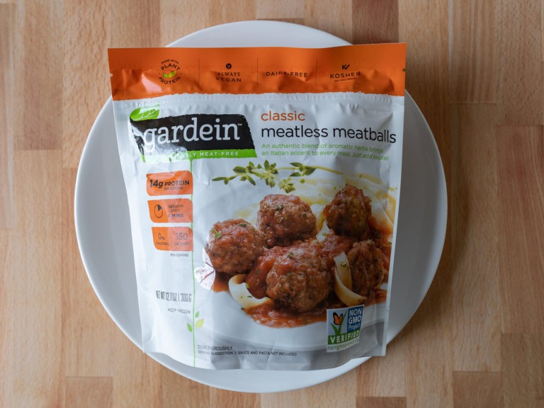 How to air fry Gardein Classic Meatless Meatballs in an air fryer