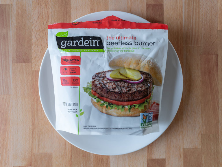 How to cook Gardein The Ultimate Beefless burger in an air fryer