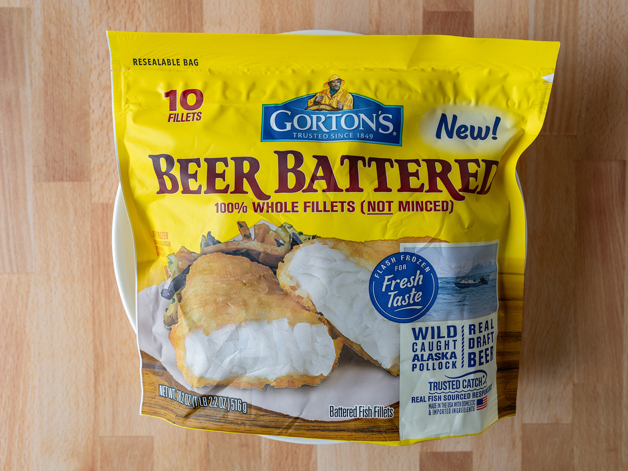 Gorton's Beer Battered Whole Fillets