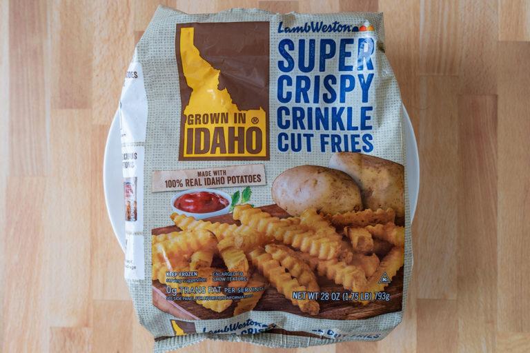 How to air fry Lamb Weston's Super Crispy Crinkle Cut Fries