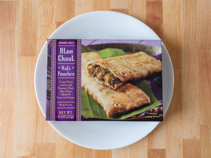 Trader Joe's Aloo Chat Kati Pocket