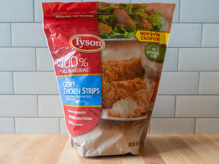 How to cook Tyson Crispy Chicken Strips in an air fryer
