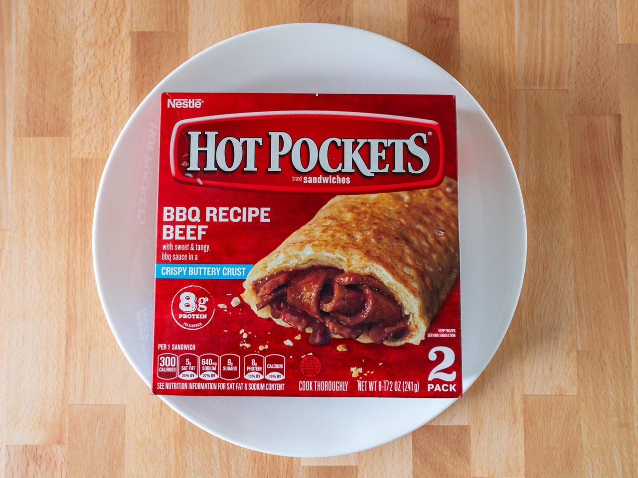BBQ recipe Beef Hot Pockets