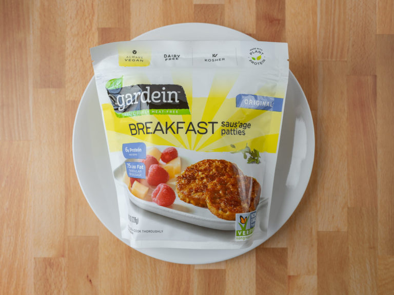 How to air fry Gardein Breakfast Saus'age patties