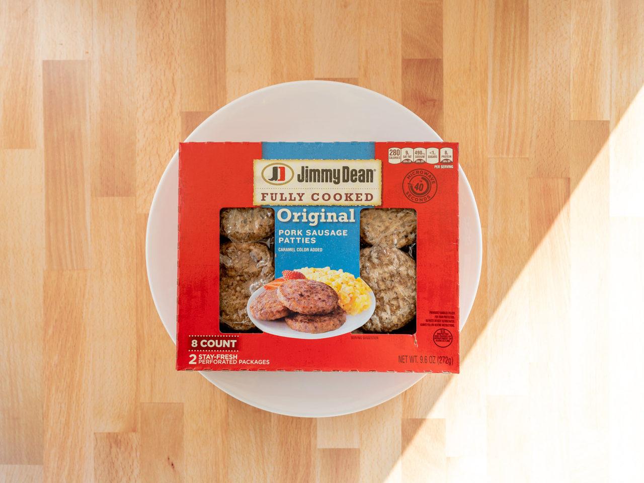 Jimmy Dean Original Pork Sausage Patties
