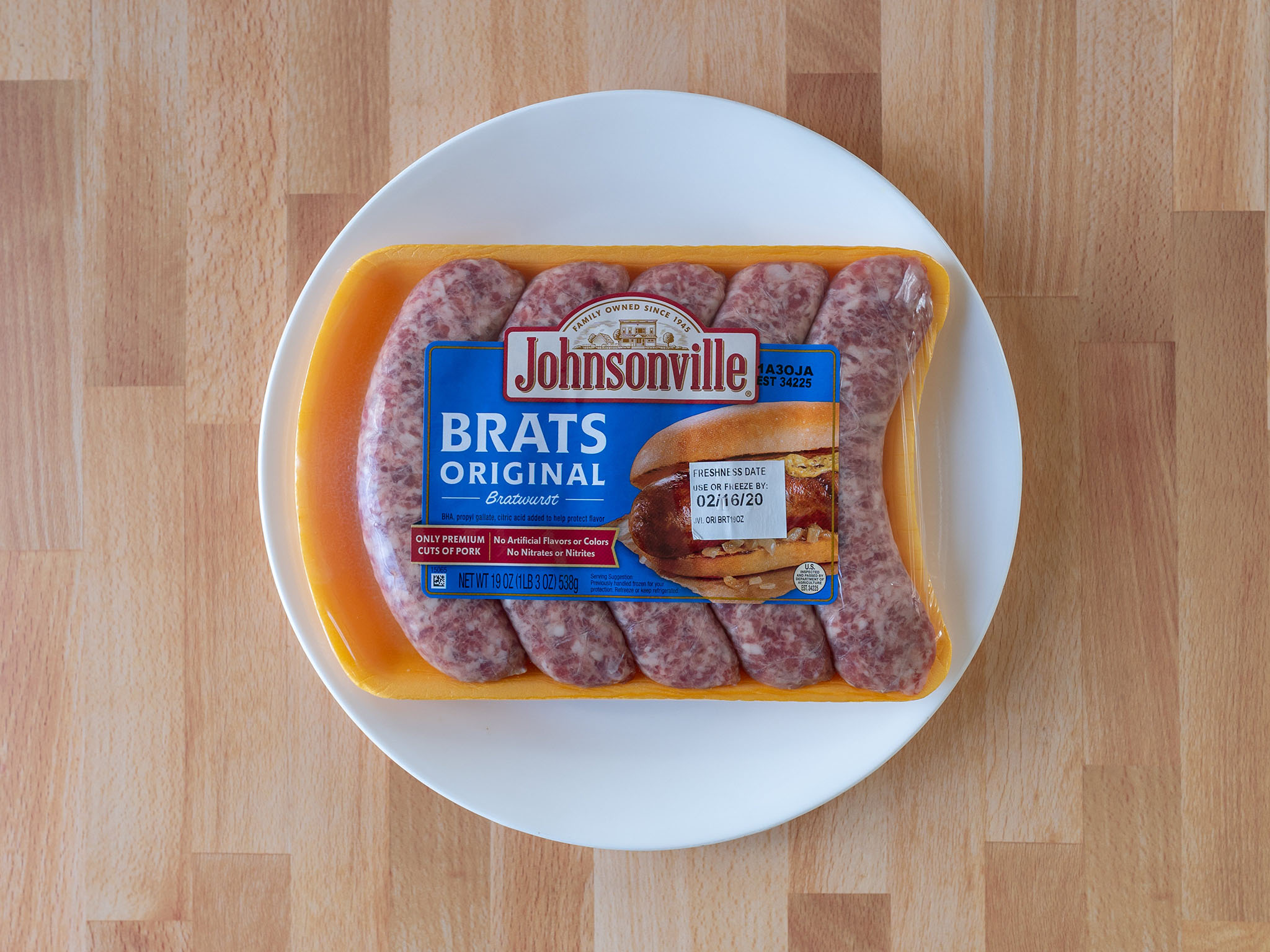 Johnsonville Brats Original Bratwurst