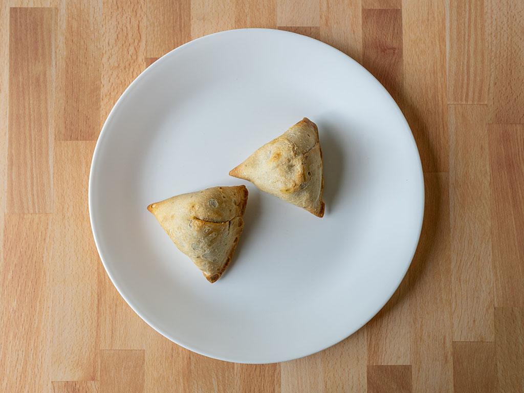 Air fried samosa