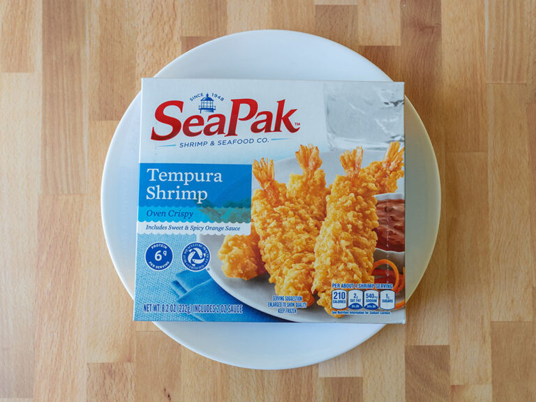 How to cook SeaPak Tempura Shrimp in an air fryer