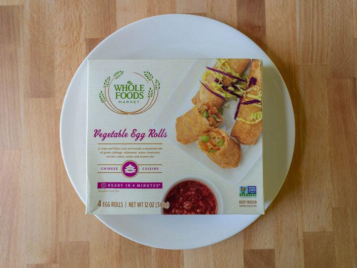 Whole Foods Vegetable Egg Rolls
