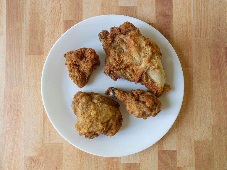 How to reheat KFC Chicken using an air fryer