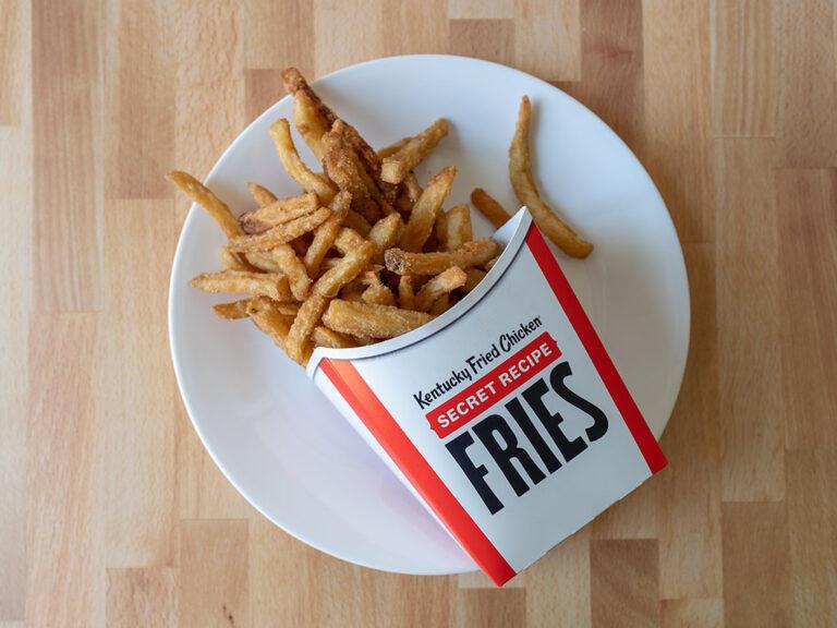 How to reheat KFC Secret Recipe Fries in an air fryer