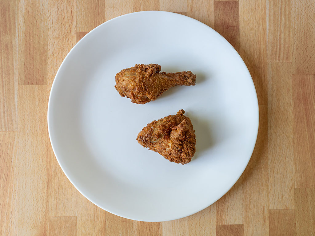 KFC original recupe drum and wing