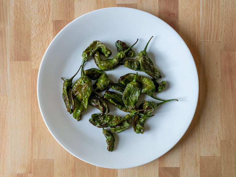 How to air fry shishito peppers