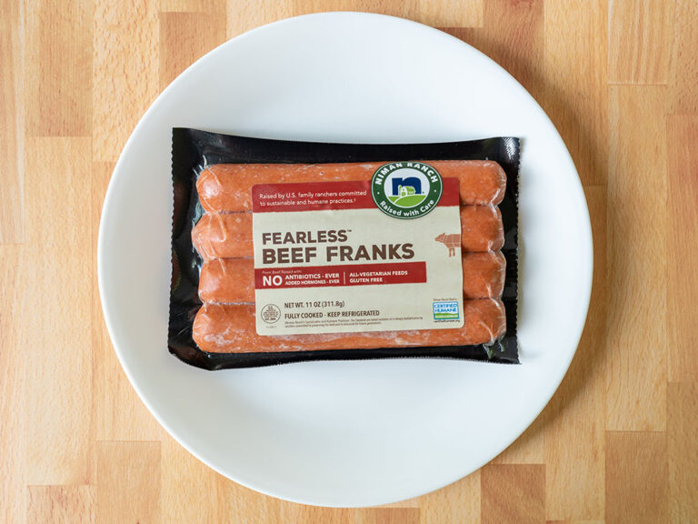 How to cook Niman Ranch Fearless Franks in the air fryer