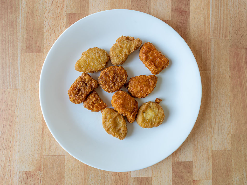 Air fried Mcdonald's Chicken Nuggets
