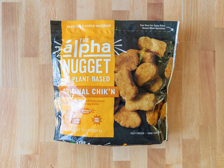 Alpha Plant-Based Original Chik'N Nuggets