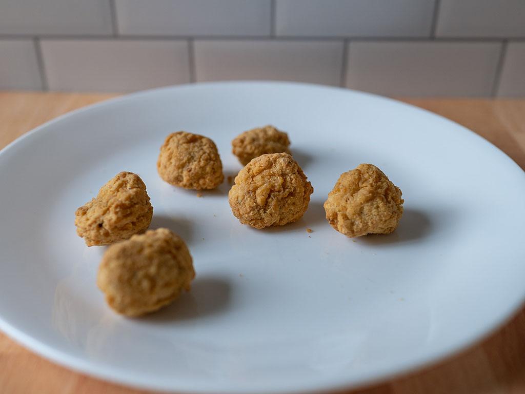 Air fried TGI Fridays Boneless Chicken Bites