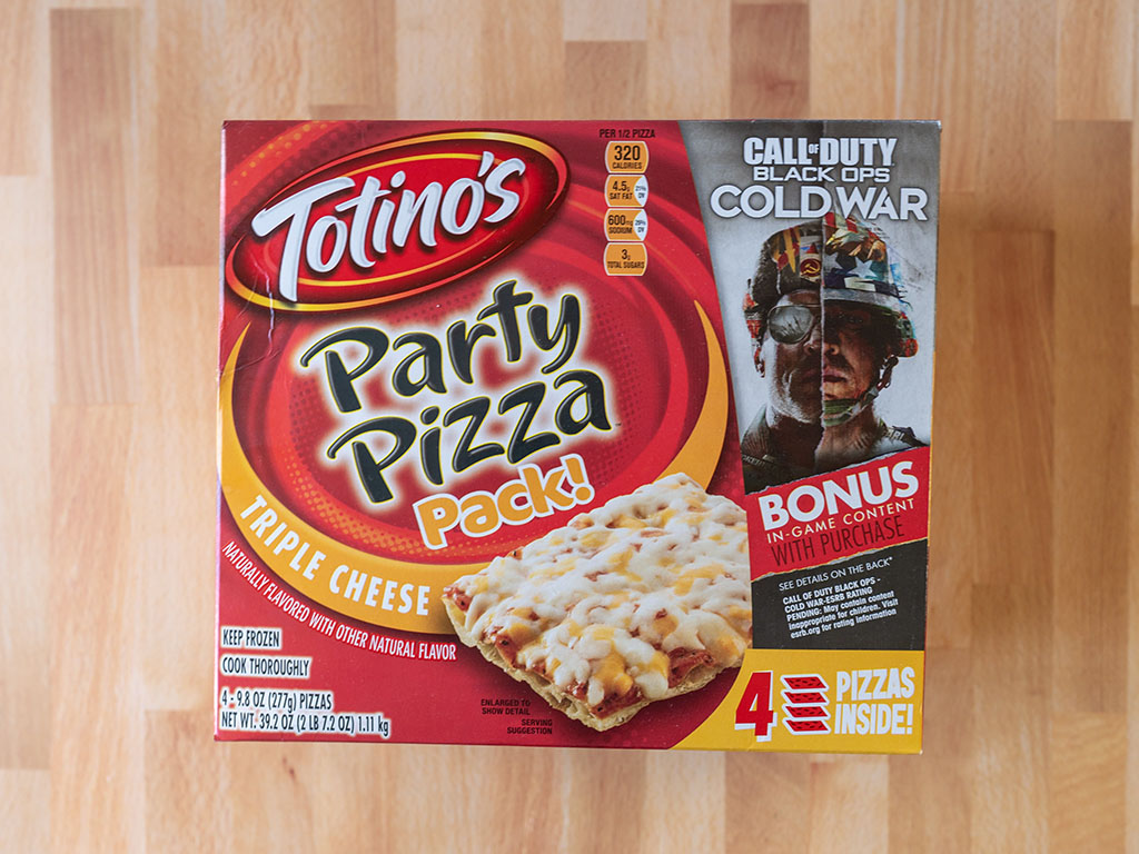 Totinos Triple Cheese Pizza