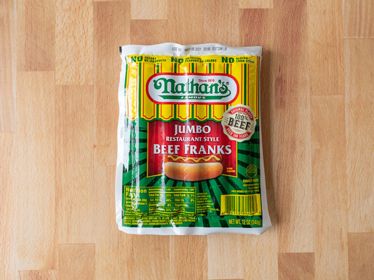 How to cook Nathan's Jumbo Beef Franks in an air fryer