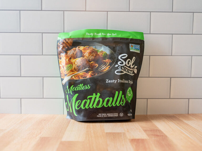 How to cook Sol Cuisine Meatless Meatballs in an air fryer