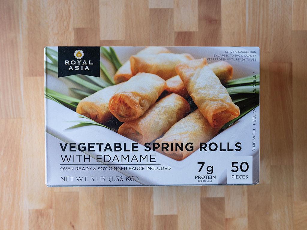 Royal Asia Vegetable Spring Rolls