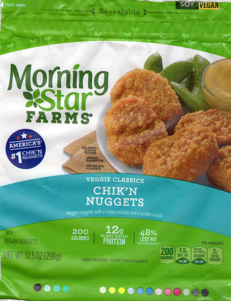 MorningStar Farms Chick'N Nuggets package front
